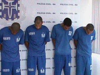 Quadrilha era liderada por internos do Conjunto Penal de Teixeira de Freitas - Foto: PC   Divulgação