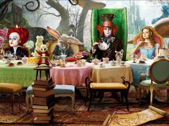 Alice no País das Maravilhas foi distribuído em 3D - Foto: Divulgação