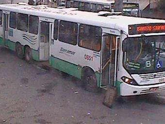 Ônibus quebrado interfere no trânsito na região do Campo Grande - Foto: Reprodução | Transalvador