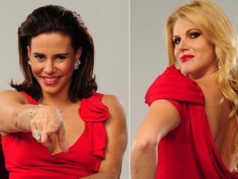 Narcisa e Val trocaram farpas em no encontro - Foto: Divulgação
