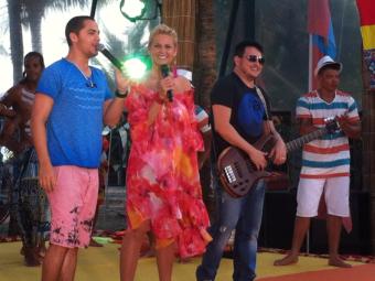Levi Lima e Manno Góes ao lado de Xuxa - Foto: Divulgação