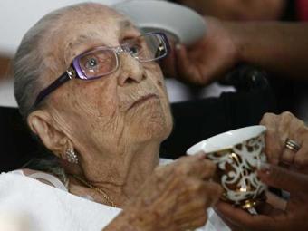 Matriarca dos Velloso completou 105 anos de vida - Foto: Luiz Tito   Ag. A TARDE