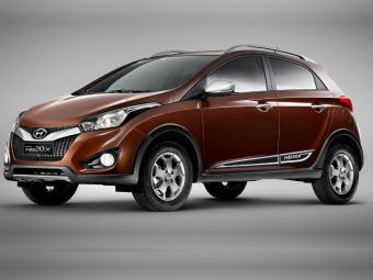 Derivada do hatch, a versão aventura será chamada de HB20X - Foto: Divulgação/Hyundai