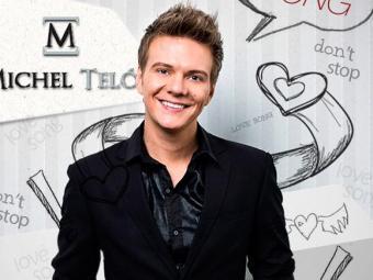 Michel Teló - pôster de lançamento da música Love Song - Foto: Divulgação