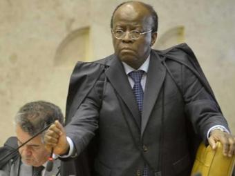 Ministro do STF Joaquim Barbosa durante julgamento do mensalão - Foto: José Cruz   Agência Brasil