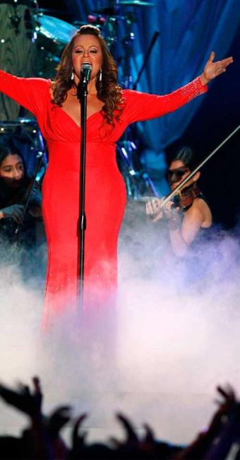 A cantora durante show no Latin Music Awards 2012 - Foto: Agência Reuters