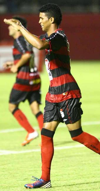 Alan Pinheiro faz dois e ajuda o Vitória a golear o Atlético-MG na final da Copa do Brasil Sub-20 - Foto: Fernando Amorim | Agência A TARDE