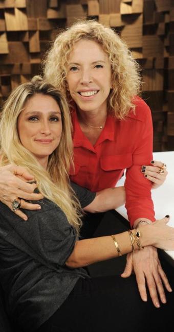 Amora Mautner no programa Marília Gabriela Entrevista - Foto: Divulgação