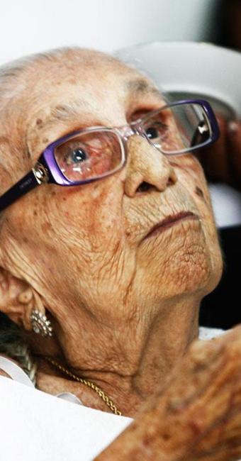 Dona Canô morreu nesta terça, aos 105 anos, em Santo Amaro - Foto: Luiz Tito | Agência A Tarde