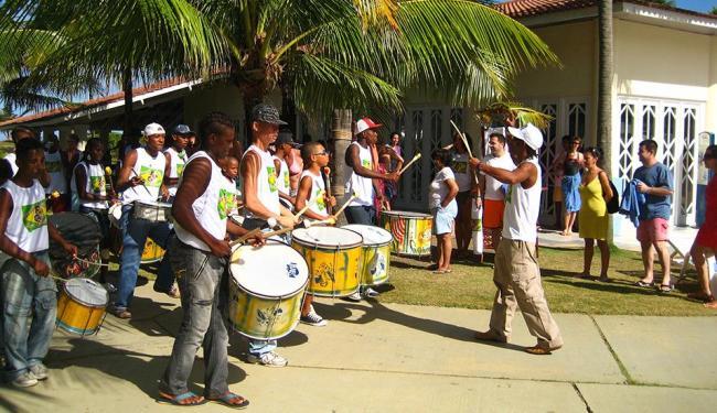 Percussão do Grupo Arte Consciente - Foto: Divulgação