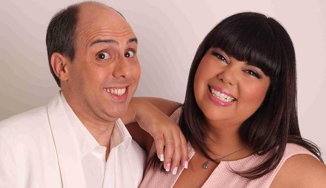 Leandro Matta e Fabiana Karla estão no Teatro da Casa do Comércio em sessões no sábado e domingo - Foto: Leo Fuchs | Divulgação