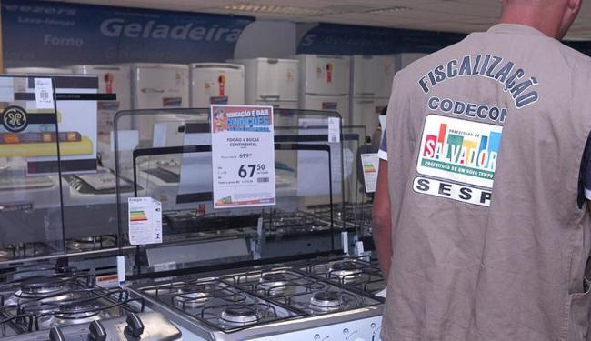 Lojas que não especificarem os preços dos produtos serão autuadas - Foto: Divulgação | Codecon