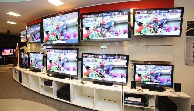 A tecnologia LCD está em 90% dos aparelhos de TV - Foto: Marco Aurélio Martins | Arquivo | Ag. A TARDE