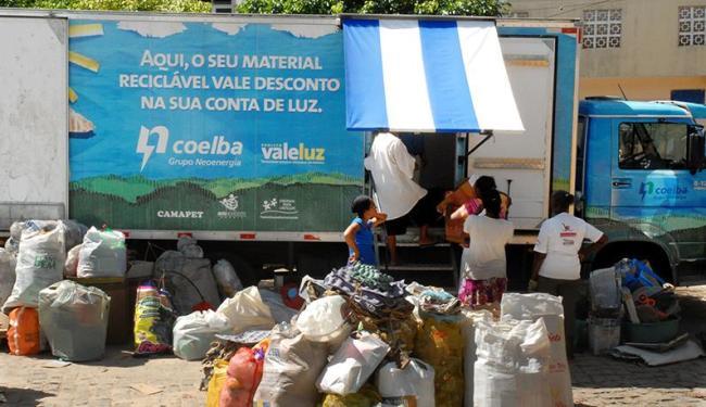A ação do Vale Luz segue até sábado, 15, percorrendo mais seis bairros - Foto: Shirley Stolze   Divulgação