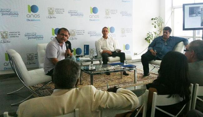 Sérgio Amadeu fala sobre os princípios gerais da internet e novas garantias à liberdade de expressão - Foto: Iloma Sales   Ag. A TARDE