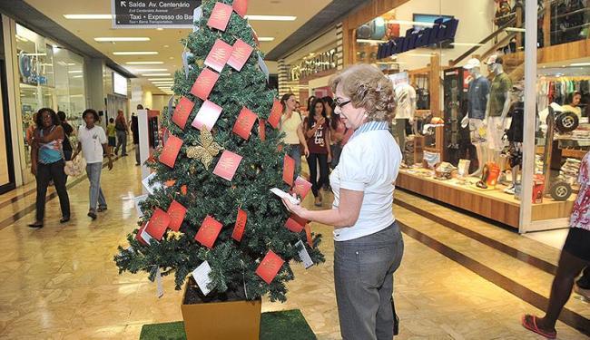 Cerca de seis mil crianças serão beneficiadas pela Árvore dos Sonhos do Shopping Barra - Foto: Valter Pontes | divulgação