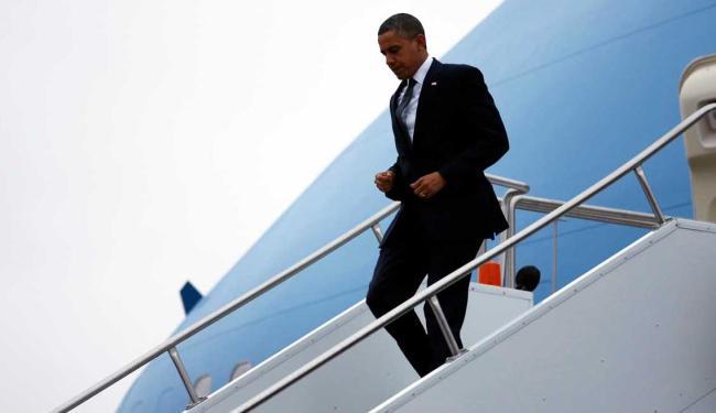 Presidente dos EUA visitou a cidade dois dias após o massacre que matou 26 pessoas - Foto: Agência Reuters