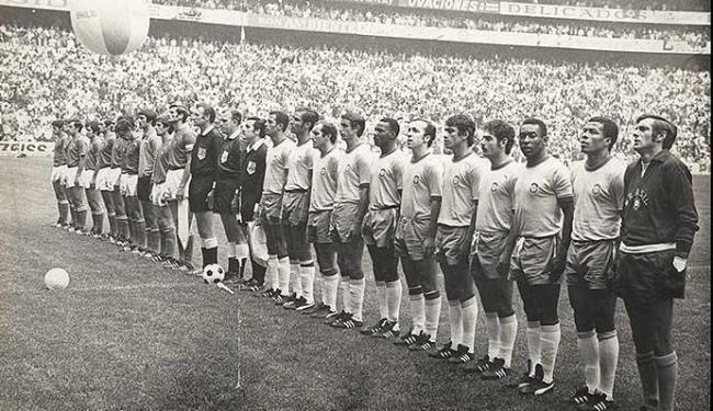 Seleção Brasileira da Copa de 1970, no México - Foto: Agencia Manchete Press I Acervo Agência A TARDE