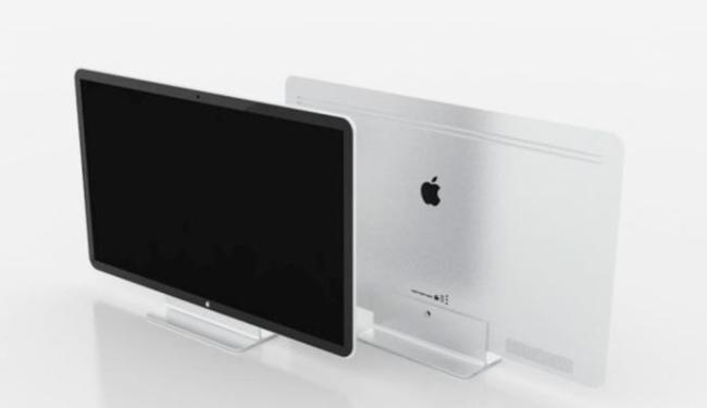 Internautas, como Gulherme Martins, imaginam como será a televisão da Apple - Foto: Reprodução