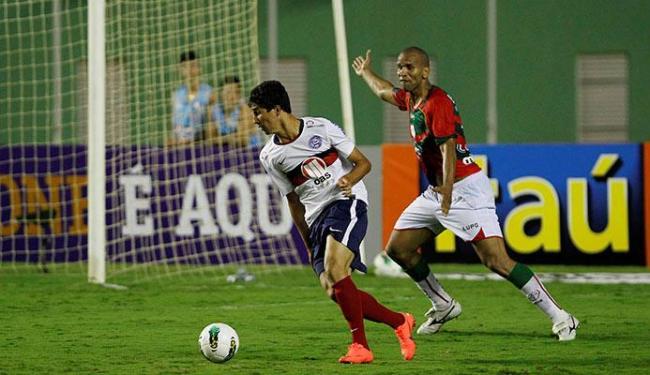 Ryder atuou no empate em 0 a 0 com a Portuguesa, em Pituaçu - Foto: Eduardo Martins | Ag. A TARDE