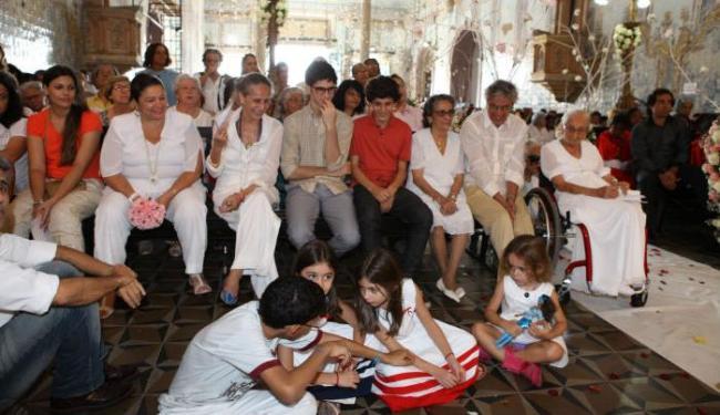 Missa de 103 anos de Dona Canô, em Santo Amaro - Foto: Marco Aurélio Martins   Ag. A TARDE