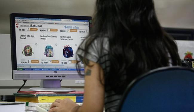 As lojas virtuais iniciam nesta quarta-feira, 26, a Boxing Week - Foto: Raul Spinassé   Ag. A TARDE