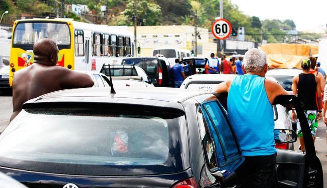 Fluxo segue intenso nos dois sentidos, segundo a Agerba - Foto: Marco Aurélio Martins   Agência A TARDE