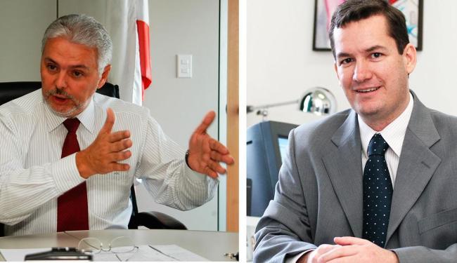 Albérico Mascarenhas e Alexandre Pauperio assumem Casa Civil e Gestão, respectivamente - Foto: Walter de Carvalho | Fernando Vivas | Agência A TARDE