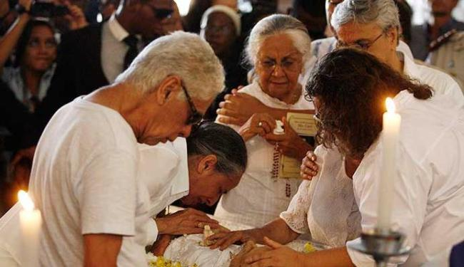 Dona Canô foi prestigiada por celebridades - Foto: Raul Spinassé | Ag. A TARDE