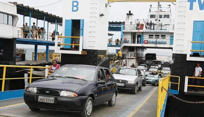 Segundo a Capitania dos Portos, ferry ainda não apresenta condições de segurança para viagem - Foto: Luciano da Matta | Ag. A TARDE