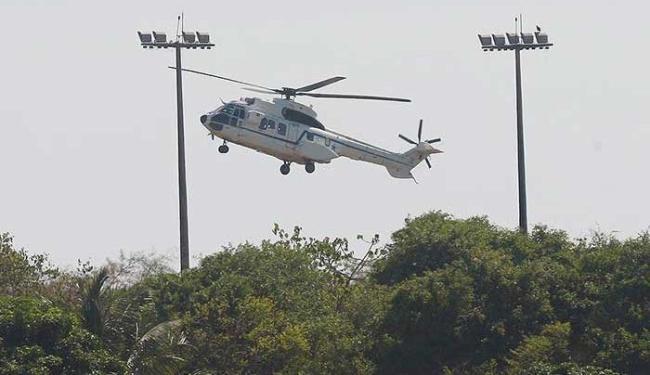 Presidente escolhe Base de Aratu para passar o Réveillon pelo 2º ano consecutivo - Foto: Lúcio Távora   Ag. A TARDE
