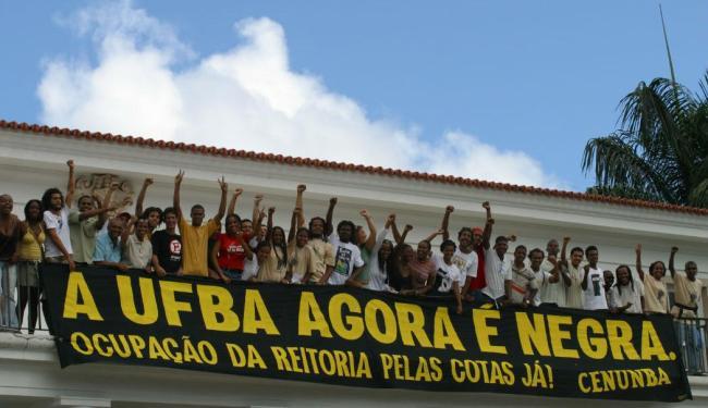A aprovação do sistema de cotas nas universidades públicas foi destaque em 2012 - Foto: Elói Corrêa | Ag. A TARDE