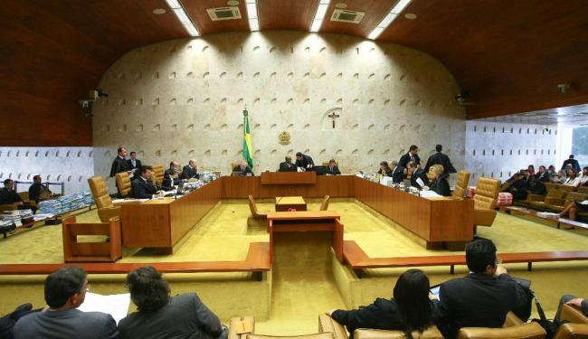 O julgamento dos réus do mensalão foi destaque da política em 2012 - Foto: Alan Marques | Folhapress