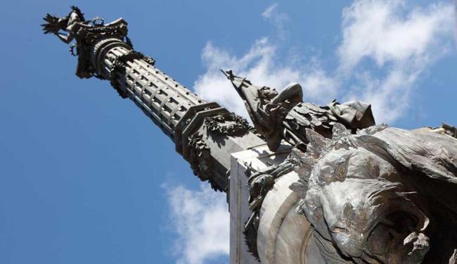 Monumento que homenageia o caboclo no Campo Grande - Foto: Marco Aurélio Martins | Ag. A TARDE