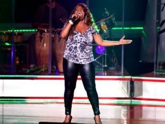 A cantora que participou do The Voice Brasil abre a festa - Foto: Divulgação | TV Globo
