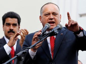 Bancada chavista ratificou, neste sábado, Diosdado Cabello como presidente da Casa - Foto: Carlos Garcia Rawlins l Reuters