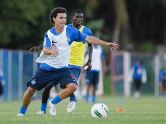 Comissão técnica tricolor dá trégua em treinos físicos e promove treino técnico no Fazendão - Foto: Eduardo Martins   Agência A TARDE