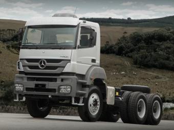 Axor é um dos caminhões envolvidos no recall - Foto: Divulgação/Mercedes-Benz