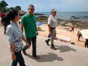 Secretário da Segurança Pública acompanhou as ações na manhã deste sábado - Foto: SSP-BA   Divulgação
