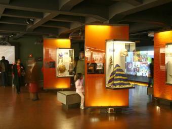 O museu foi inaugurado em março de 2006 - Foto: Divulgação