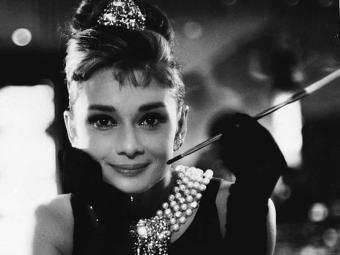 Audrey Hepburn no clássico filme