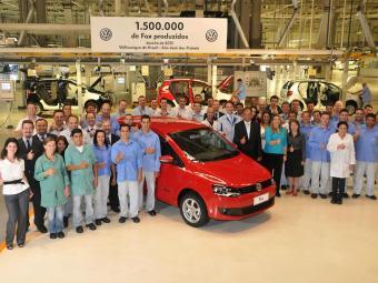 O Fox é o segundo modelo mais produzido pela Volks no País - Foto: Divulgação