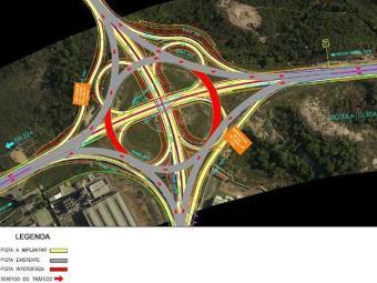 Construção de novo sistema viário modificará trânsito na BA-526 - Foto: Reprodução | Bahia Norte