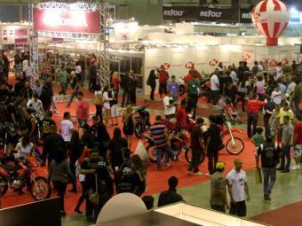 Salão Bike Show 2012 contou com 48.000 visitantes nos 4 dias - Foto: Divulgação