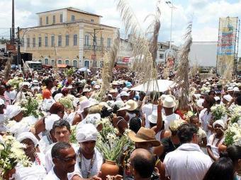Lavagem da igreja matriz no domingo, 27, é o ponto alto da festa - Foto: Edgar de Souza|Divulgação