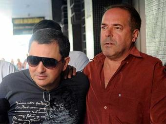 Empresário (à esquerda) permanecerá preso por, no mínimo, cinco dias - Foto: Wilson Dias | Agência Brasil