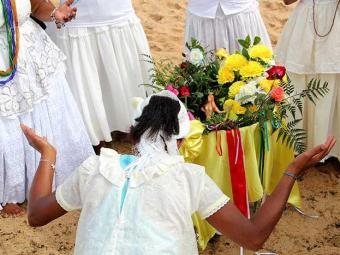 Rainha das águas é alvo de homenagens em festa realizada desde 1924 - Foto: Uran Rodrigues / Divulgação