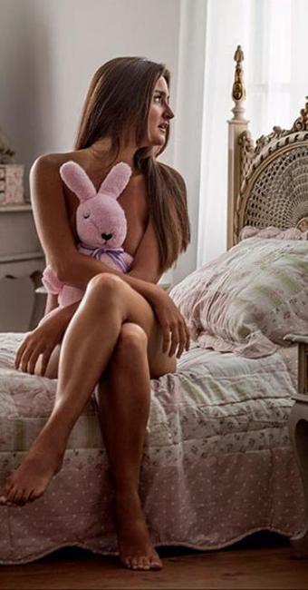 Catarina ainda não se sente segura em perder a virgindade - Foto: Divulgação | Playboy