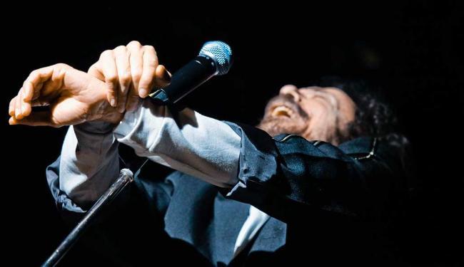 A última apresentação do cantor na Concha foi em 2011 - Foto: Marcelo Rossi   Divulgação