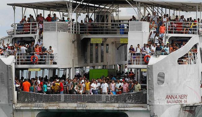 Do dia 20 de dezembro até a meia-noite desta terça, foram transportados 219.006 passageiros, 25.364 - Foto: Eduardo Martins   Ag. A TARDE